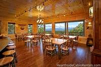 Large dining room area at The Big Moose Lodge