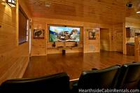 16 bedroom cabin in Pigeon Forge with home theater system