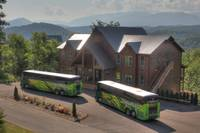 Motorcoach and tour bus accessible 16 bedroom Pigeon Forge cabin
