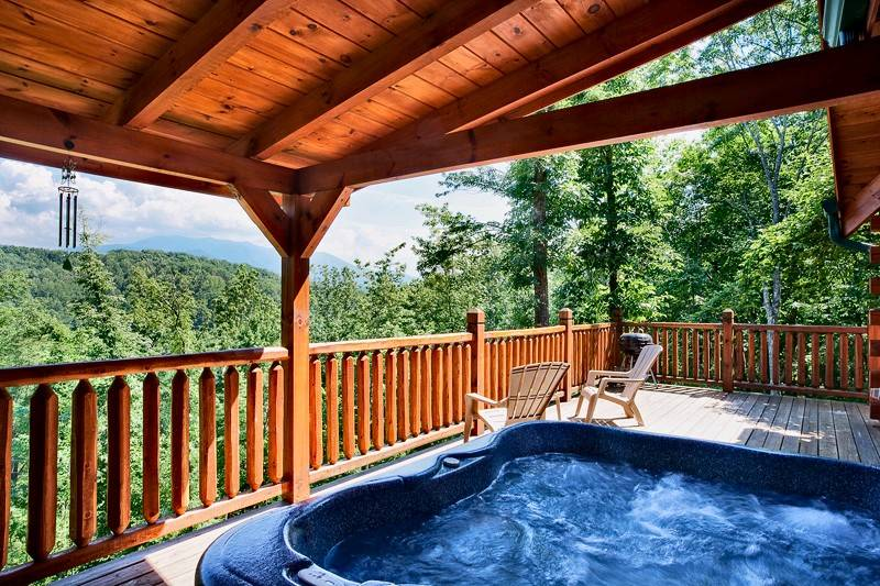 Gatlinburg Tennessee Cabins ~ Sweet dreams bedroom cabin in gatlinburg tn