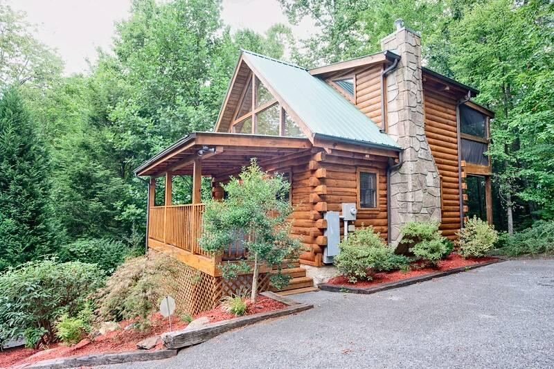 Gatlinburg Cabin Rentals Mountain Mist 1 Bedroom Cabin In