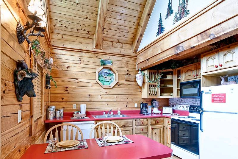 Gatlinburg Cabin Rentals Mountain Mist 1 Bedroom Cabin In