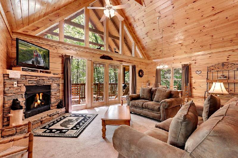 3 Bedroom Cabin Rentals   Gatlinburg Cabin Rentals   Pigeon Forge