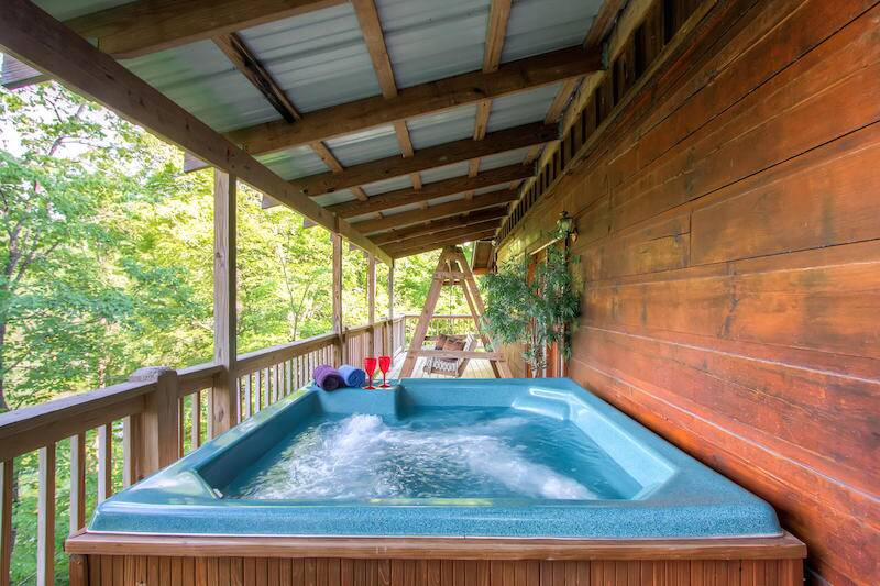 Country Hideaway 1 Bedroom Cabin Near Dollywood