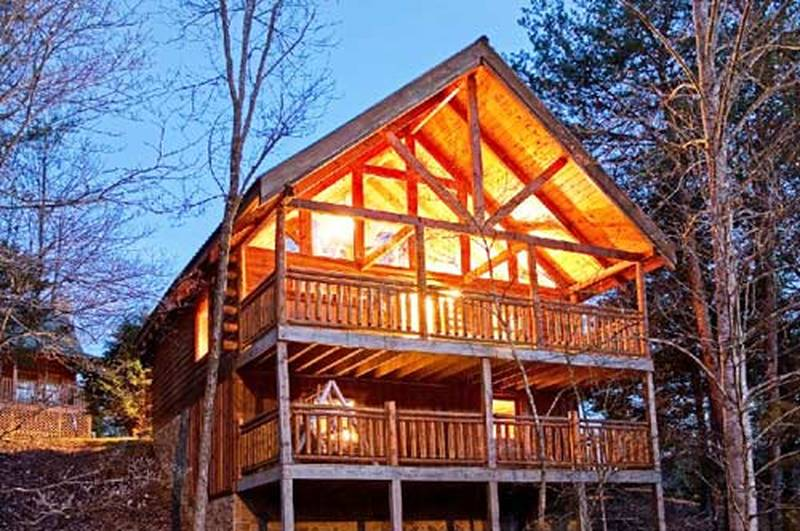 Gods Grace 2 Bedroom Cabin In Gatlinburg Tn