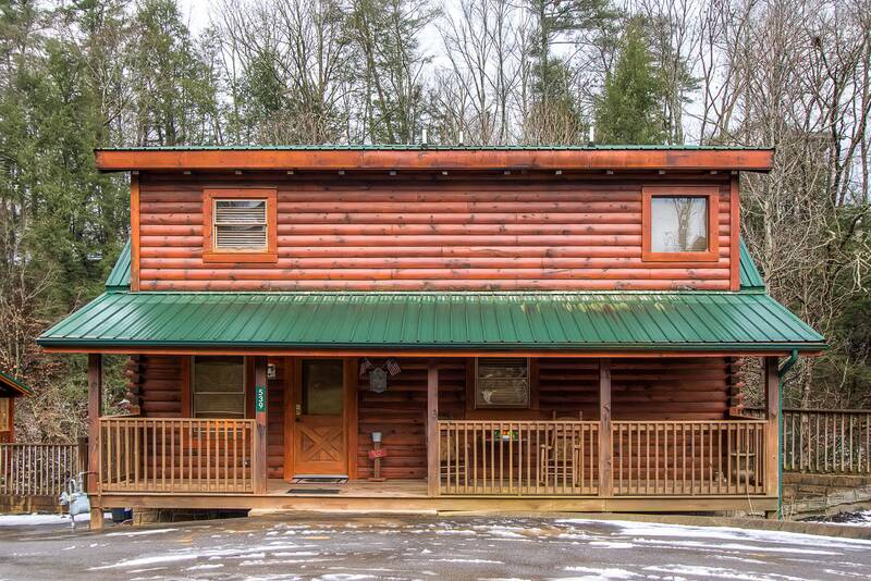 Wine Down 2 Bedroom Cabin In Pigeon Forge Tn
