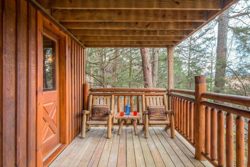 Gods Grace 2 Bedroom Cabin In Gatlinburg Tn