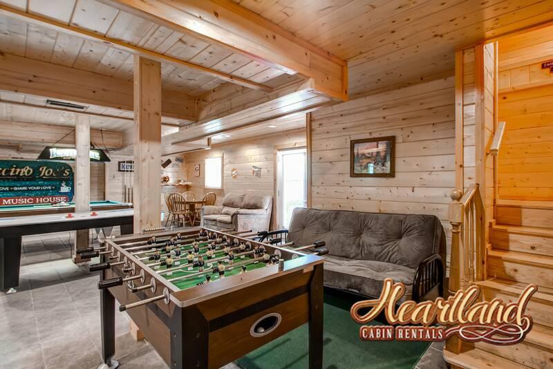 Mountain Serenity 2 Bedroom Cabin In Gatlinburg Tn
