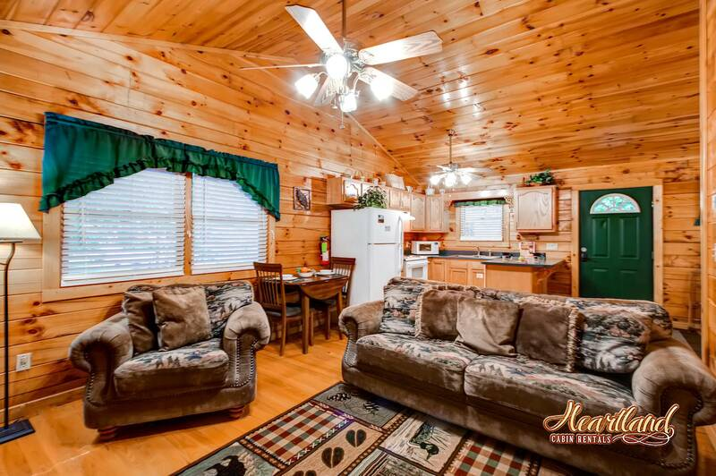 Romantic Retreat 1 Bedroom Cabin In Gatlinburg Tn