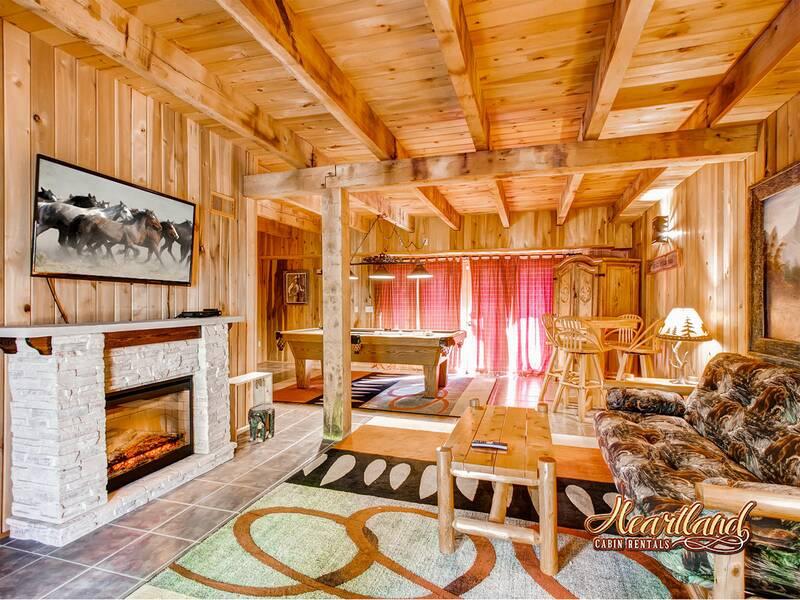 Halfway To Heaven 3 Bedroom Cabin In Gatlinburg Tn