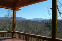 Above the Clouds - 2 bedroom Gatlinburg Cabin with a mountain view - Heartland Cabin Rentals - Mountain View