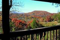 Fall colors of the mountains