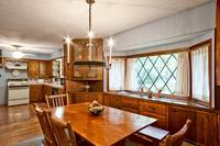 Full kitchen and dining area of Leprechaun Island