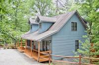Exterior view of Mountin Memories - affordable 2 bedroom Pigeon Forge cabin rental