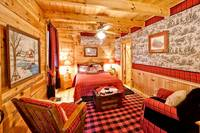 Bedroom of Barefoot Dreams - 2 Bedroom cabin near Pigeon Forge