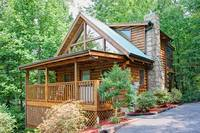 Private 1 bedroom Honeymoon Cabin in Pigeon Forge