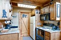 Kitchen and appliances in Bear Pause - 1 bedrrom cabin in Pigeon Forge