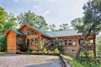 Above the Clouds is an affordable 2 bedroom Gatlinburg cabin rental from Heartland Cabin Rentals - Outside View