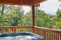 Above the Clouds - 2 bedroom Gatlinburg Cabin - Heartland Cabin Rentals - Enjoy the view and Hot Tub
