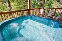 Above the Clouds - 2 bedroom Gatlinburg Cabin with hot tub - Heartland Cabin Rentals - Hot Tub 2