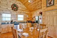 Above the Clouds - 2 bedroom Gatlinburg Cabin - Heartland Cabin Rentals - Dining Area