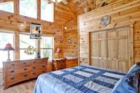 Above the Clouds - 2 bedroom Gatlinburg Cabin - Heartland Cabin Rentals - Two master Bedrooms