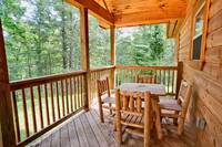 Above the Clouds - 2 bedroom Gatlinburg Cabin - Heartland Cabin Rentals - Deck and Chairs