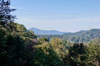 Mountain views from this private cabin in Pigeon Forge area
