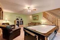Across the Smokies - air hockey table in a 3 bedroom Gatlinburg cabin rental