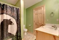 Across the Smokies - full bathroom of this 3 bedroom Gatlinburg cabin rental