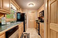 Across the Smokies - full kitchen of this 3 bedroom Gatlinburg cabin rental