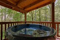Across the Smokies - relax in the hot tub of this 3 bedroom Gatlinburg cabin rental
