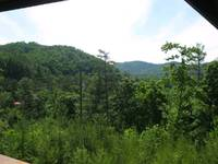 Mountain views from the front deck