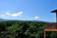 Mountain views from Monte Casa - 1 bedroom Gatlinburg cabin rental