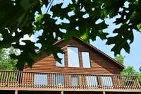 Front view of this 1 bedroom Gatlinburg cabin rental