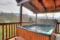 Hot tub in Gatlinburg