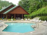 Community Pool Access for guests of this Gatlinburg cabin rental