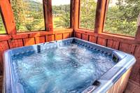 Hot-Tub-Smokey-Trails-Heartland-Cabin-Rentals-Gatlinburg-TN