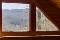 View from loft - Heartland Cabin Rentals - Amazing Views