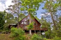 Amazing Views - View up to Deck - Gatlinburg Cabin Rentals