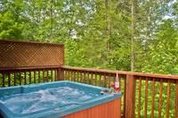Amazing Views - Hot Tub at this 2 bedroom Gatlinburg cabin rental