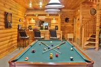 Smokey Trails Darts, pool table and wet bar