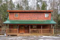 Pigeon Forge Cabin Wine Down 2 Bedroom Pet Friendly Cabin