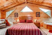 Pet Friendly Cabin - Bedroom of Cabin