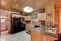 Pet Friendly Cabin - Kitchen Area