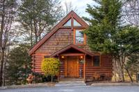Front of 2 bedroom Cabin in Pigeon Forge