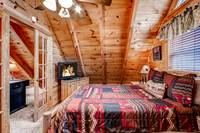 Master Bedroom of Cabin