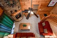 Pet Friendly Cabin - Cabins Living Area