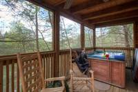 Gatlinburg Cabin with Hot Tub