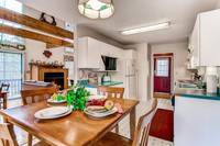 Full kitchen near the living room - 2 bedroom chalet